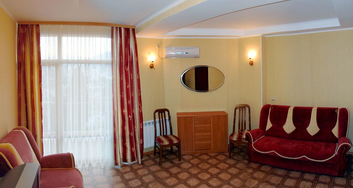 Алушта частный сектор отдых в Крыму номер комфорт